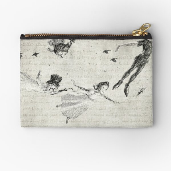 Peter Pan Quote Zipper Pouch
