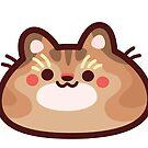Cinnamon CatBlob by Leonie Yue