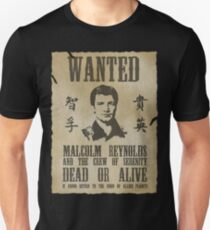 Wanted Captain  Unisex T-Shirt