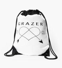 jack grazer Drawstring Bag