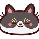 Sleepy CatBlob by Leonie Yue