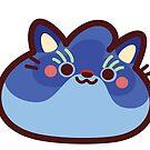 Rainbow CatBlobs: Midnight by Leonie Yue