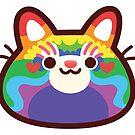 Pride PandaCatBlob by Leonie Yue