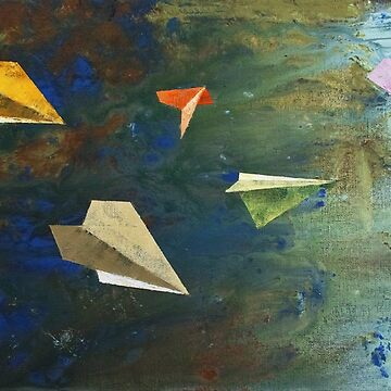 Paper Airplanes by michaelcreese
