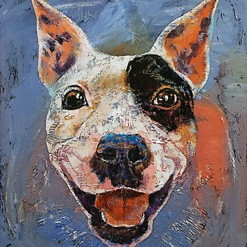 Happy Pitbull by michaelcreese