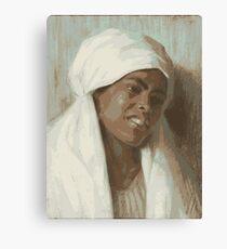 African Woman Leinwanddruck