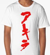 Akira Hiragana Vertical Long T-Shirt