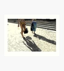 bondi shadowmaker Art Print