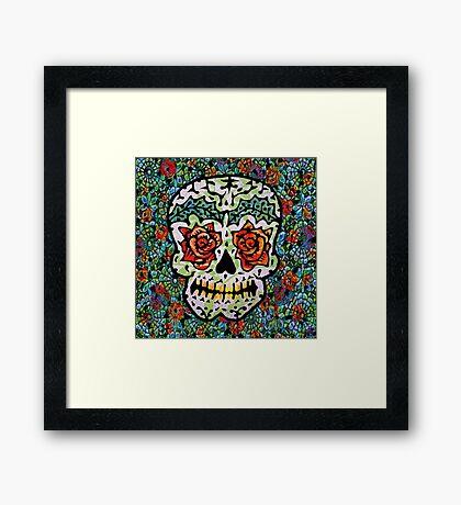 'Sweet Sugar Skull #1 Framed Print