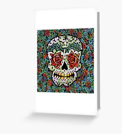 'Sweet Sugar Skull #1 Greeting Card