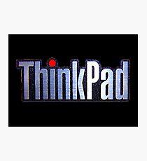 Thinkpad Logo Realistic Photographic Print
