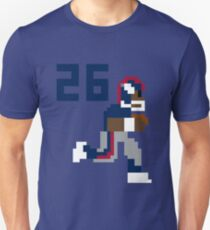 Saquon Barkley Tecmo Bowl Slim Fit T-Shirt