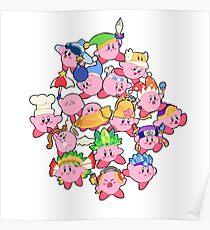 Kirbys!  Poster