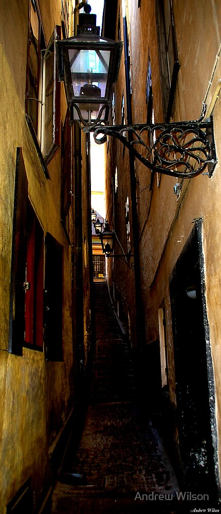 Gamla Stan Laneway by Andrew Wilson
