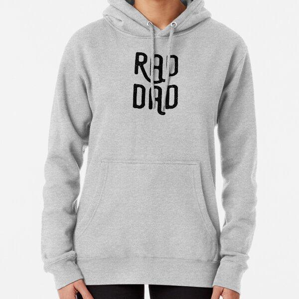 Rad Dad - Black Lettering Pullover Hoodie