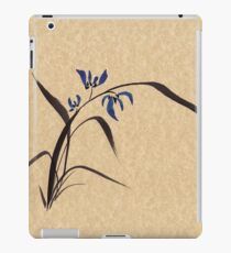 'Morning Orchids'  Sumi-e ink wash painting iPad Case/Skin