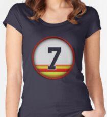 7 - Bidge (early 90's) Women's Fitted Scoop T-Shirt