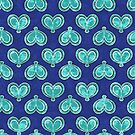 Blue Double Winged Butterfly Club by lacitrouille