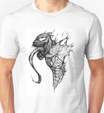 Venom Speed Drawing Unisex T-Shirt