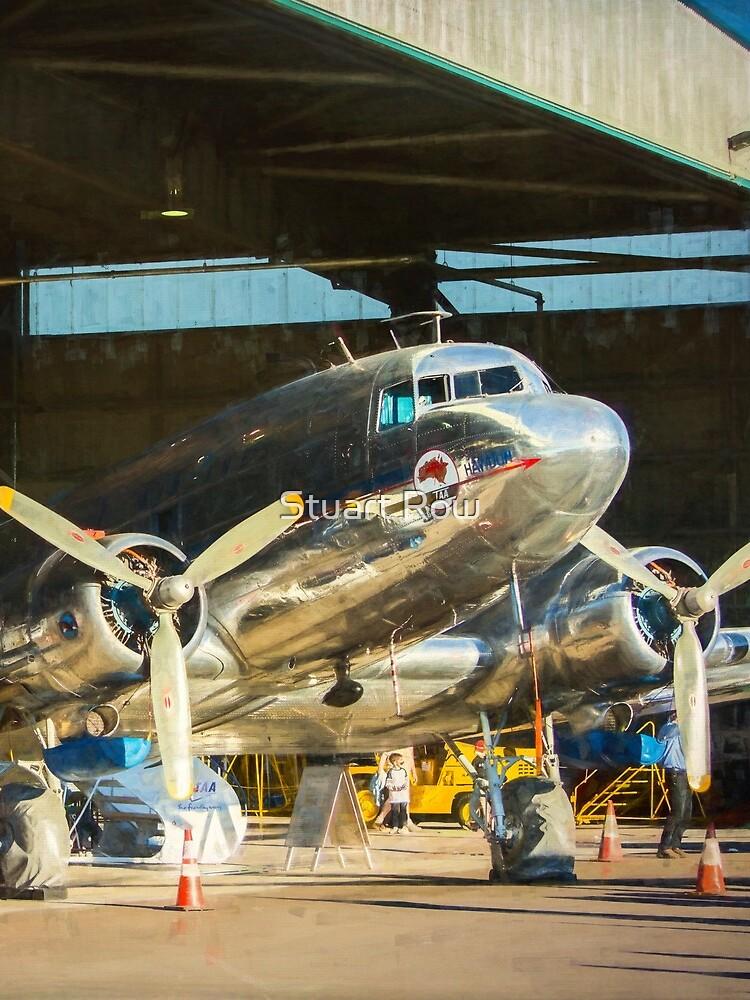 Douglas DC3 in the Hangar by StuartRow