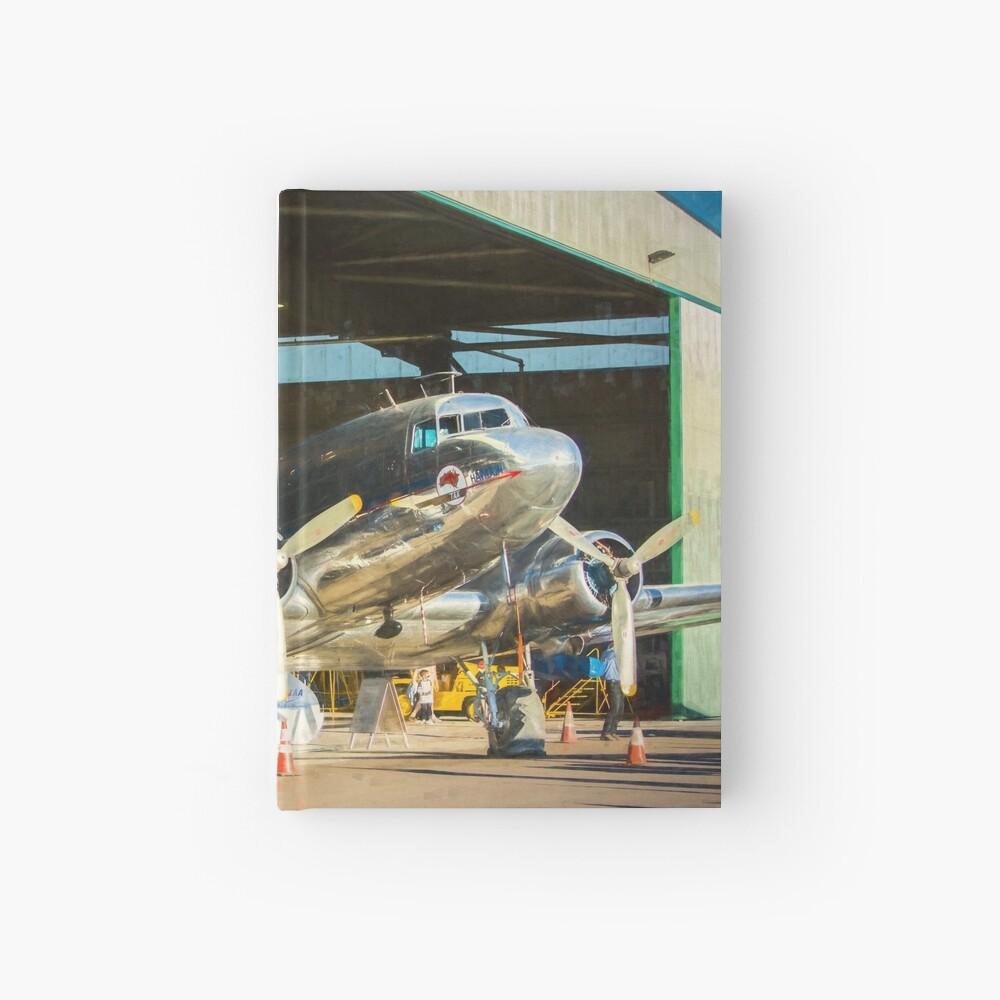 Douglas DC3 in the Hangar Hardcover Journal