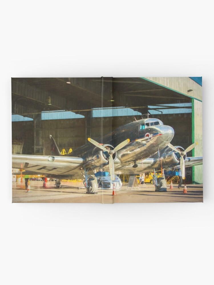 Alternate view of Douglas DC3 in the Hangar Hardcover Journal
