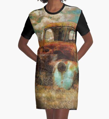 Abandoned Graphic T-Shirt Dress