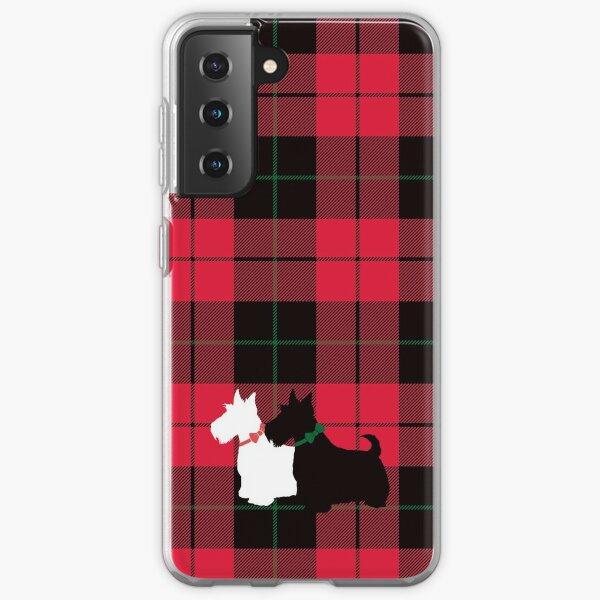 Scottie Tartan Samsung Galaxy Soft Case