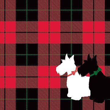 Scottie Tartan by CoyGraphics