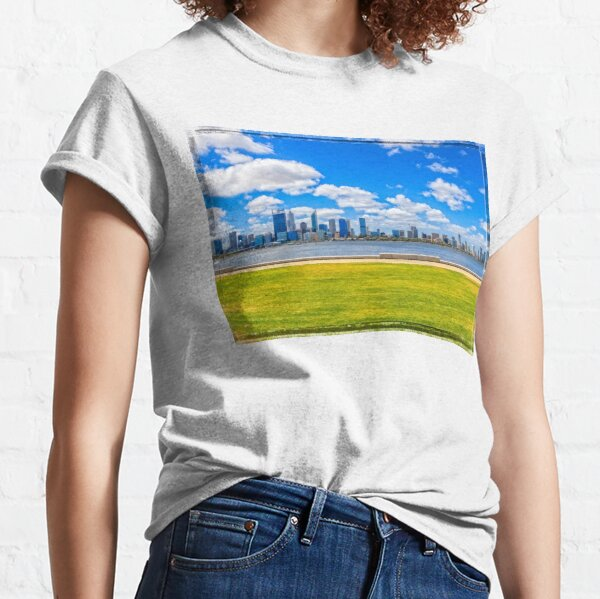 Lazy Afternoon, Perth City Skyline, Perth Classic T-Shirt