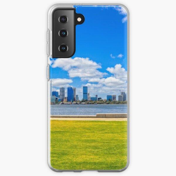 Lazy Afternoon, Perth City Skyline, Perth Samsung Galaxy Soft Case