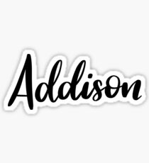 Addison  Sticker