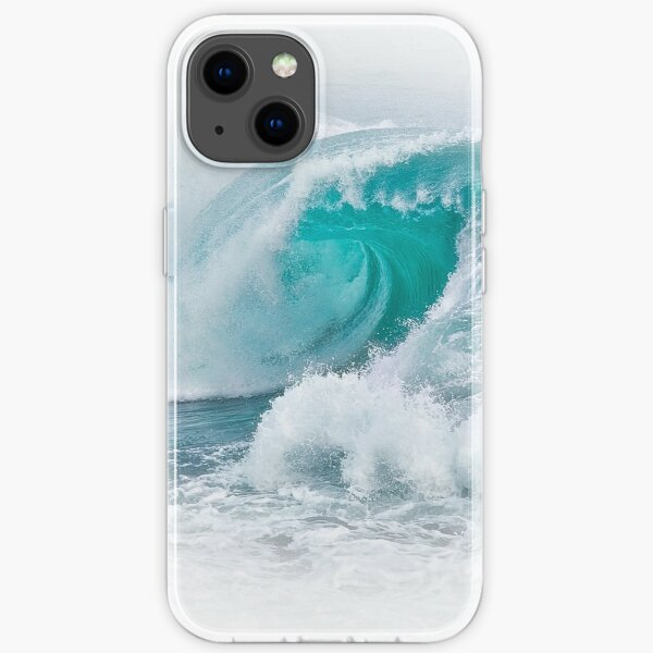 White Thunder 4, Indian Ocean, Perth iPhone Soft Case