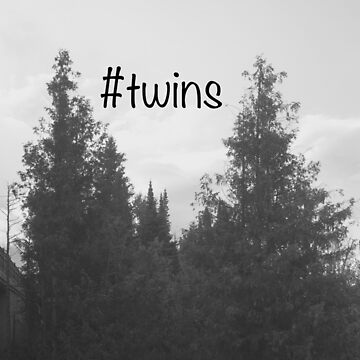 Twins Trees by 3PoppyRoad