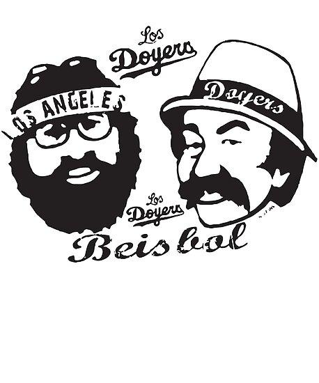 cheech and chong los doyers beisbol la baseball t