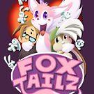 """Gizmo and Bunny in Fox Tailz by Steven """"Gizmo"""" Lisefski"""