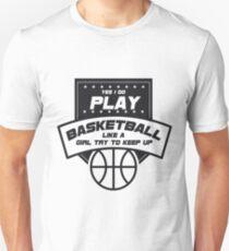 Girls Basketball Sport Gift Unisex T-Shirt