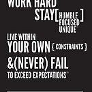 Work Hard by Robert McMahan