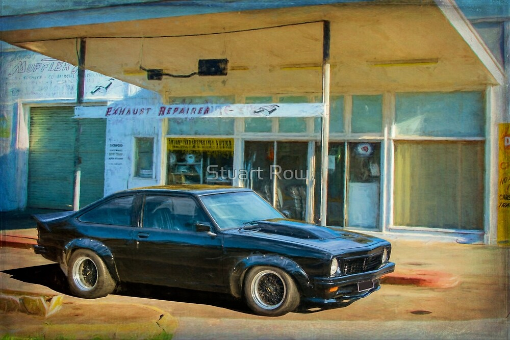 Black Torana SS Hatchback by Stuart Row