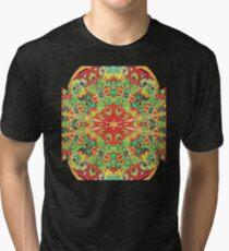 Stain Glass D Tri-blend T-Shirt