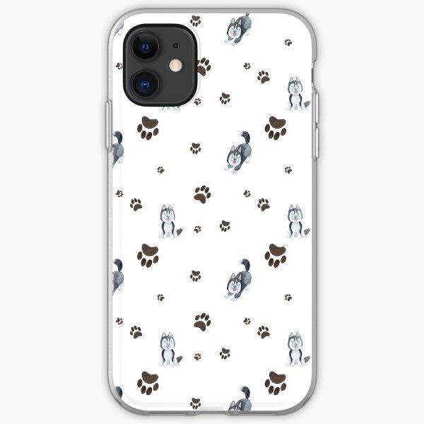 Husky Pupper  iPhone Soft Case