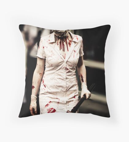 Time For Your Medicine Throw Pillow