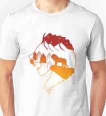 Lion King - Orange  Unisex T-Shirt