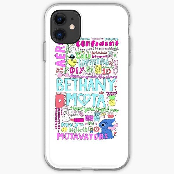 Bethany Mota Collage iPhone Soft Case