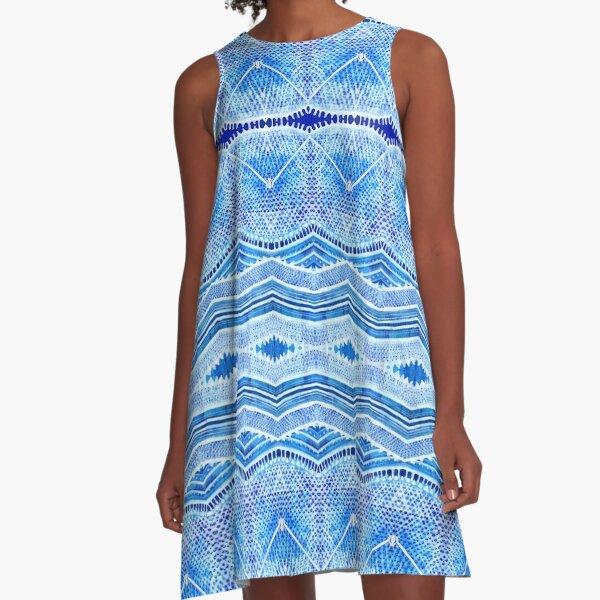 PHYTOPLANKTON RAD A-Line Dress