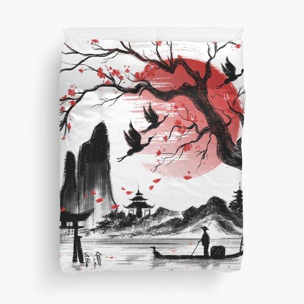 Japan dream Duvet Cover