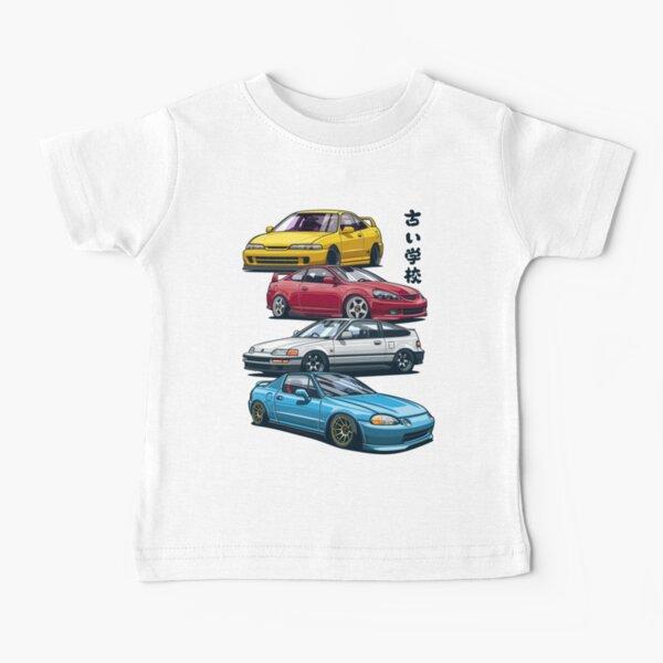 JDM Mix. Civic, CRX, Integra Baby T-Shirt
