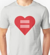 Equal Love Heart T-Shirt