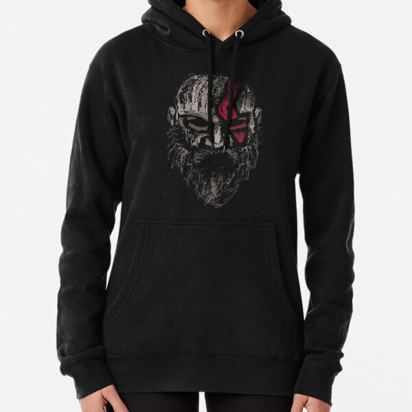 The Warrior of Gods Pullover Hoodie