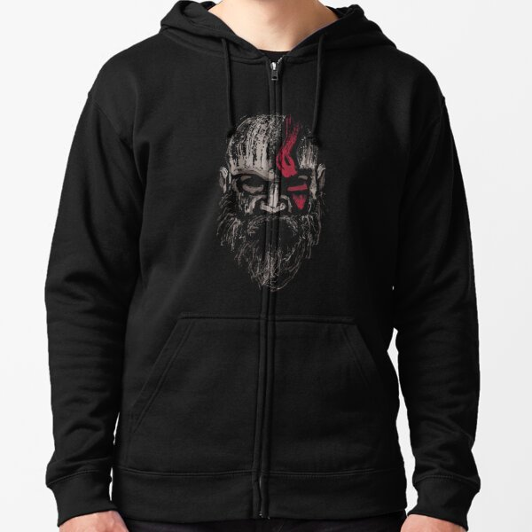 The Warrior of Gods Zipped Hoodie